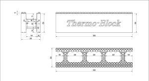 Desen tehnic blocuri de zidarie 25