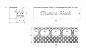Desen tehnic blocuri de zidarie 35