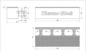 Desen tehnic blocuri de zidarie 44